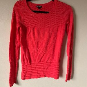 Beautiful coral express sweater!